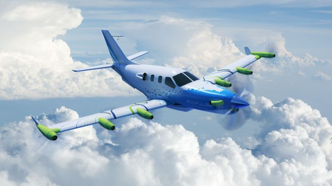 EcoPulse Hybrid Aircraft