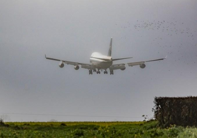 Landing at St Athan - Mike Baker