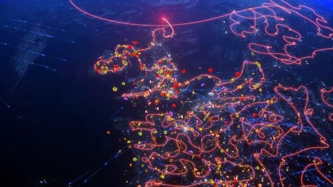 Projected Santa Flight Plan