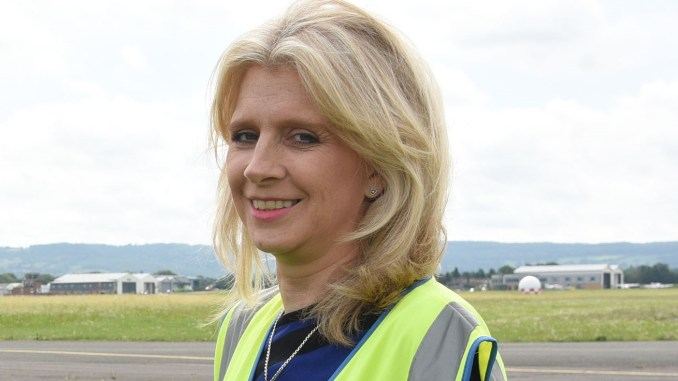 Karen Taylor, The new MD of Gloucestershire-Airport