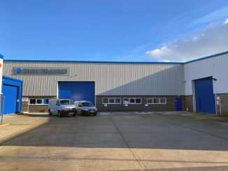 EXPANSION: New manufacturing facility at RHH Franks in New Milton, Hampshire.