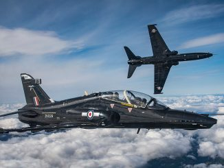 Photographs from a Photo Chase of the newly stood-up 25(F) Squadron Hawk T2 and IV(AC) Squadron Hawk T2.