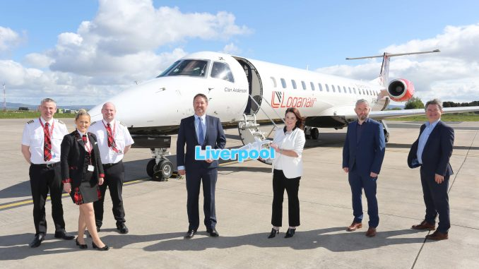 Flights between City of Derry and Liverpool launched this week