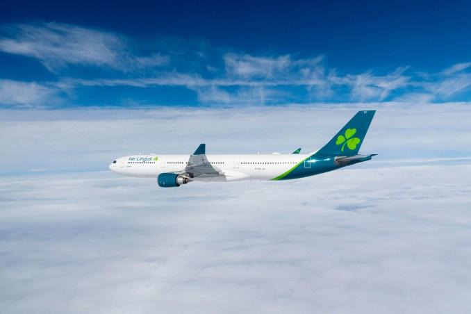 Aer Lingus Airbus A330 EI-EDY, now registered as G-EIDY