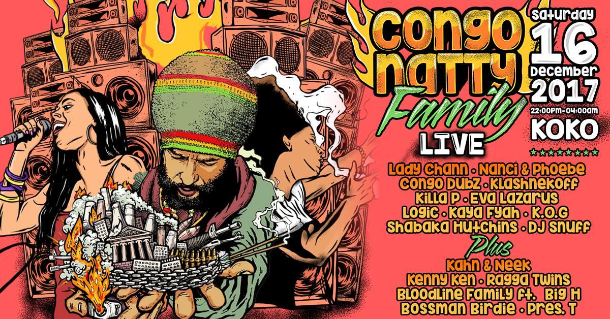 Congo Natty Live x Camden Town