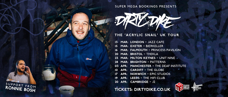 Dirty Dike Tour dates 2019
