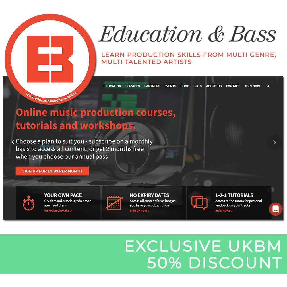 Education & Bass x UKBM