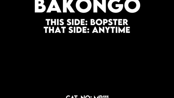 Bakongo - Bopster / Anytime