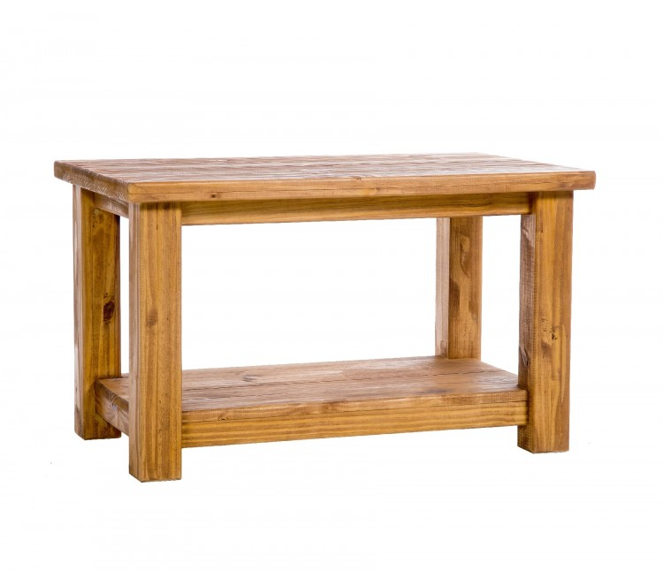 core farmhouse pine coffee table by core products