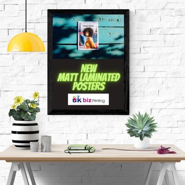 short run a3 matt laminated posters