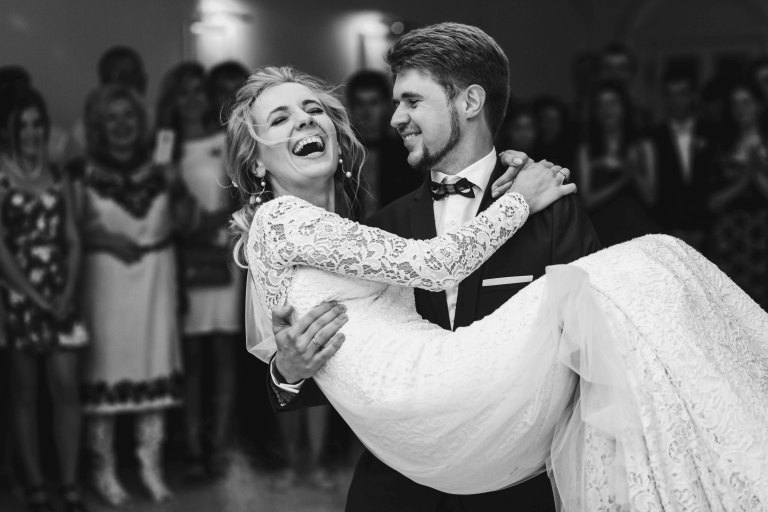 Have fun for your first dance!