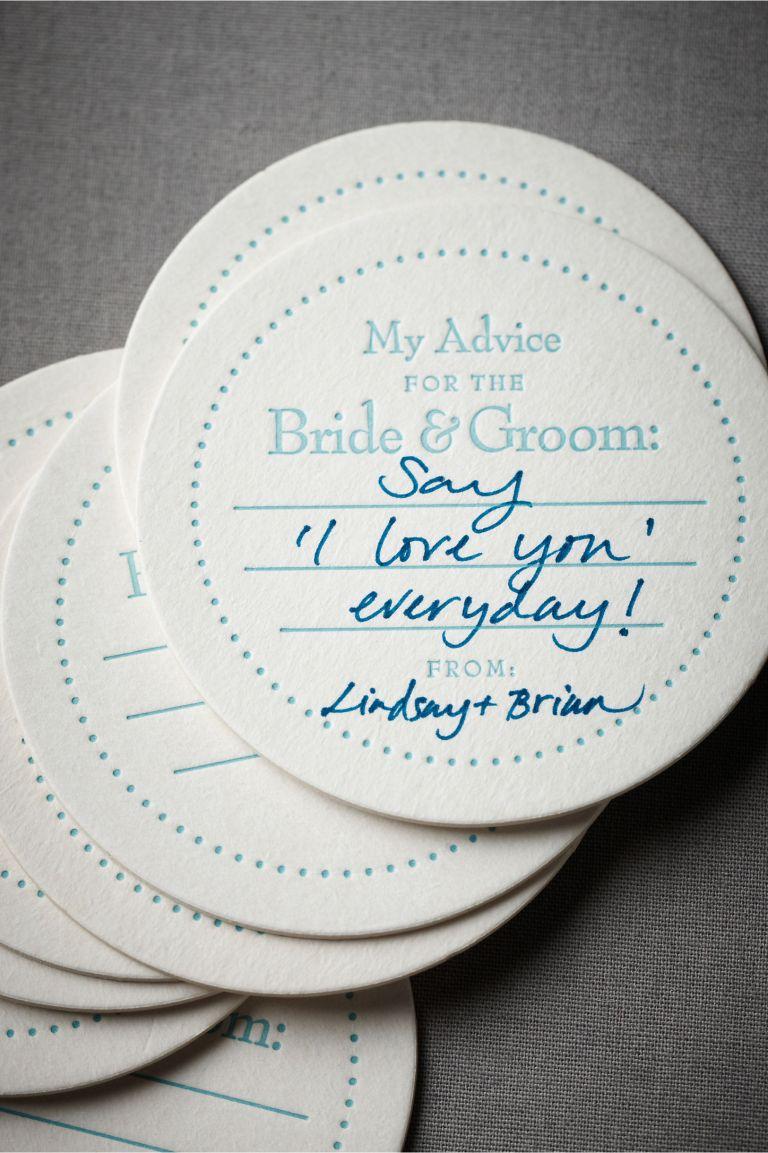 Advice Coasters.