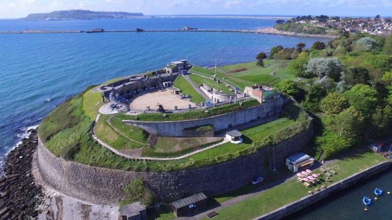 Nothe Fort, Weymouth.