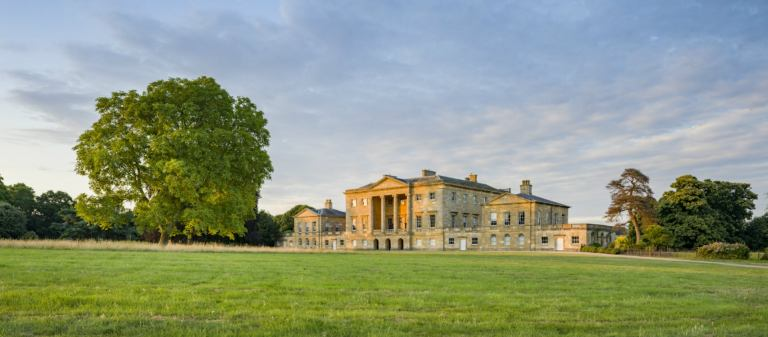 Basildon Park is filled with centuries old romance. Think Downton Abbey!