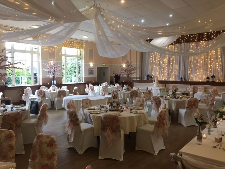 One of the beautiful reception rooms you can get married in.