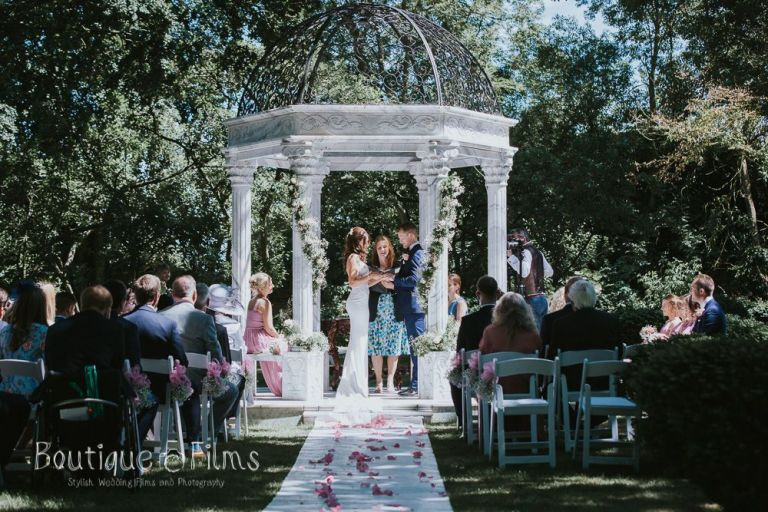 You can marry outdoors at this venue!