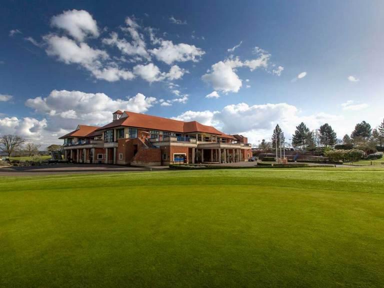 The main venue, hotel and golf centre.