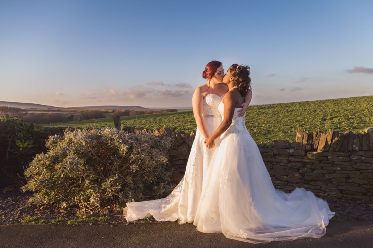 We love this photo with beautiful Yorkshire in the background!