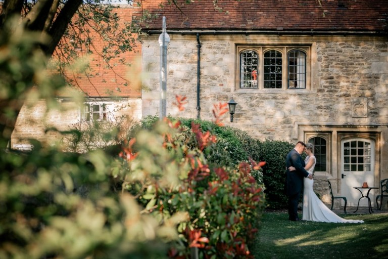 A Grade II listed 15th century manor house certainly sets the scene for a fairytale wedding!