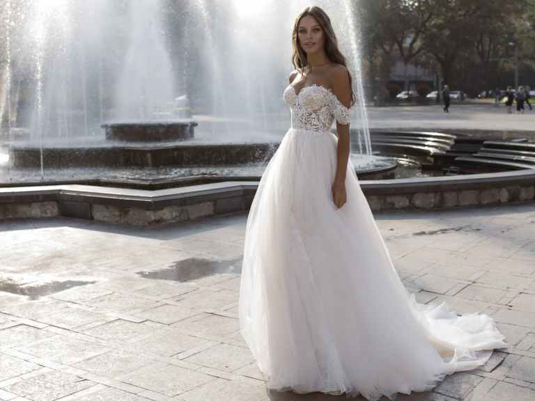 What a beautiful gown YOU could be walking down the aisle in!