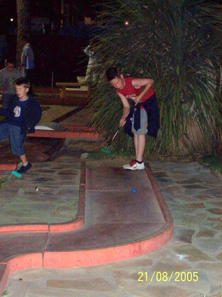 Bonne Anse Plage - crazy golf