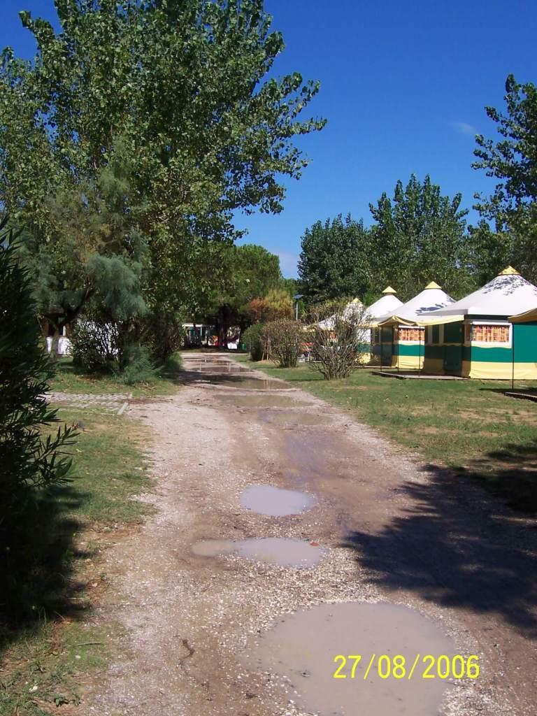 Ca' Savio - the tents
