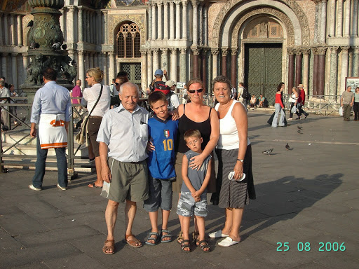 5 people at St Mark's Basilica