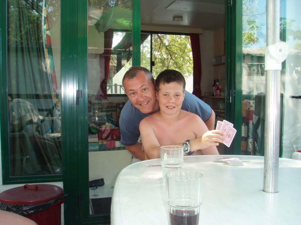 a dad & his son