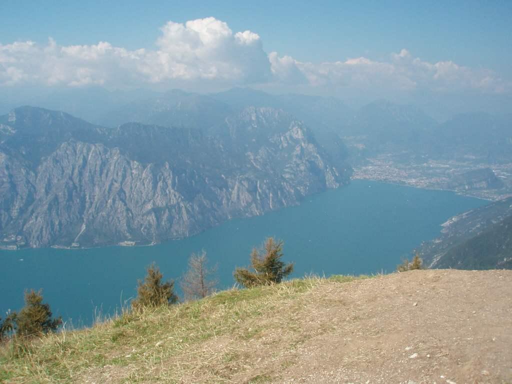 Overlooking Riva del Garda