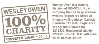 Excerpt from the Wesley Owen Volunteer Leaflet (PDF, 104kb)