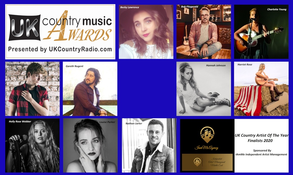 Finalists: UK Country Artist Of The Year