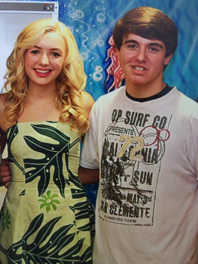 Donny with Payton