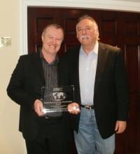 Allan receives the CMA International Broadcast Award