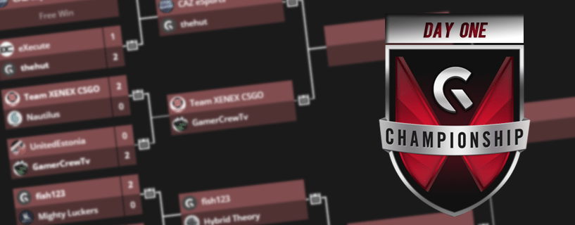 gfinity uk champs day one
