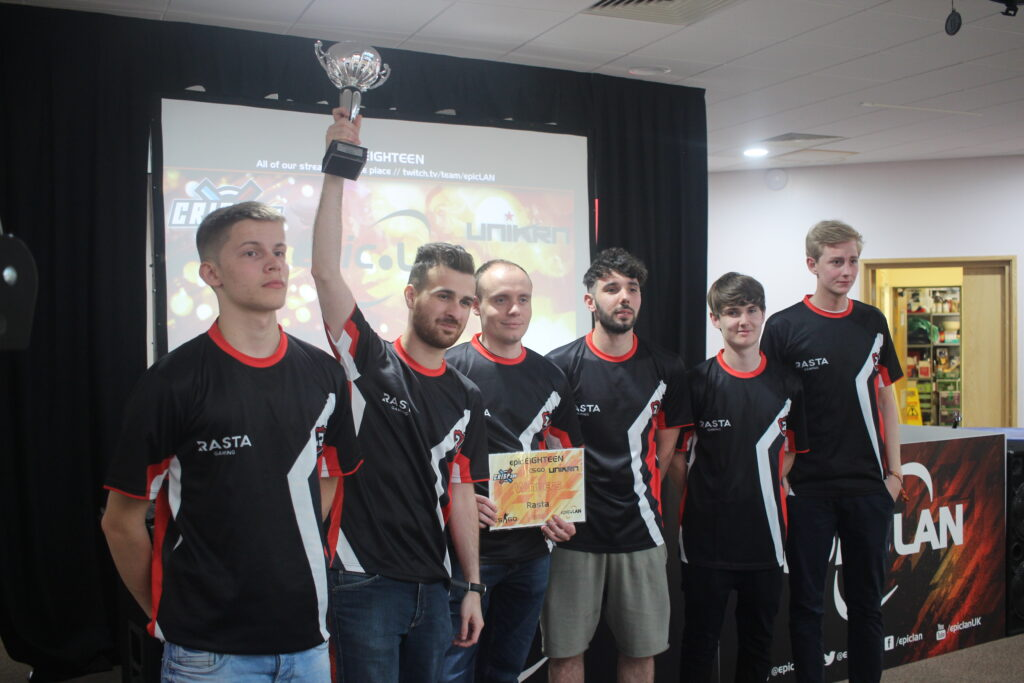 Rasta Gaming claim first place at epicEIGHTEEN
