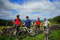 Heading out on the Wayfarer Classic mountain bike route