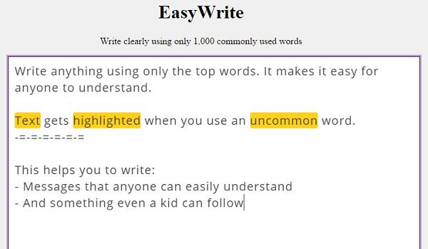EasyWrite