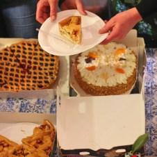 taart bij de workshop