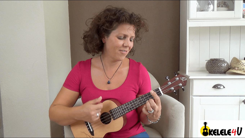 Happy uke song leren spelen - ukelele - ukelele4u