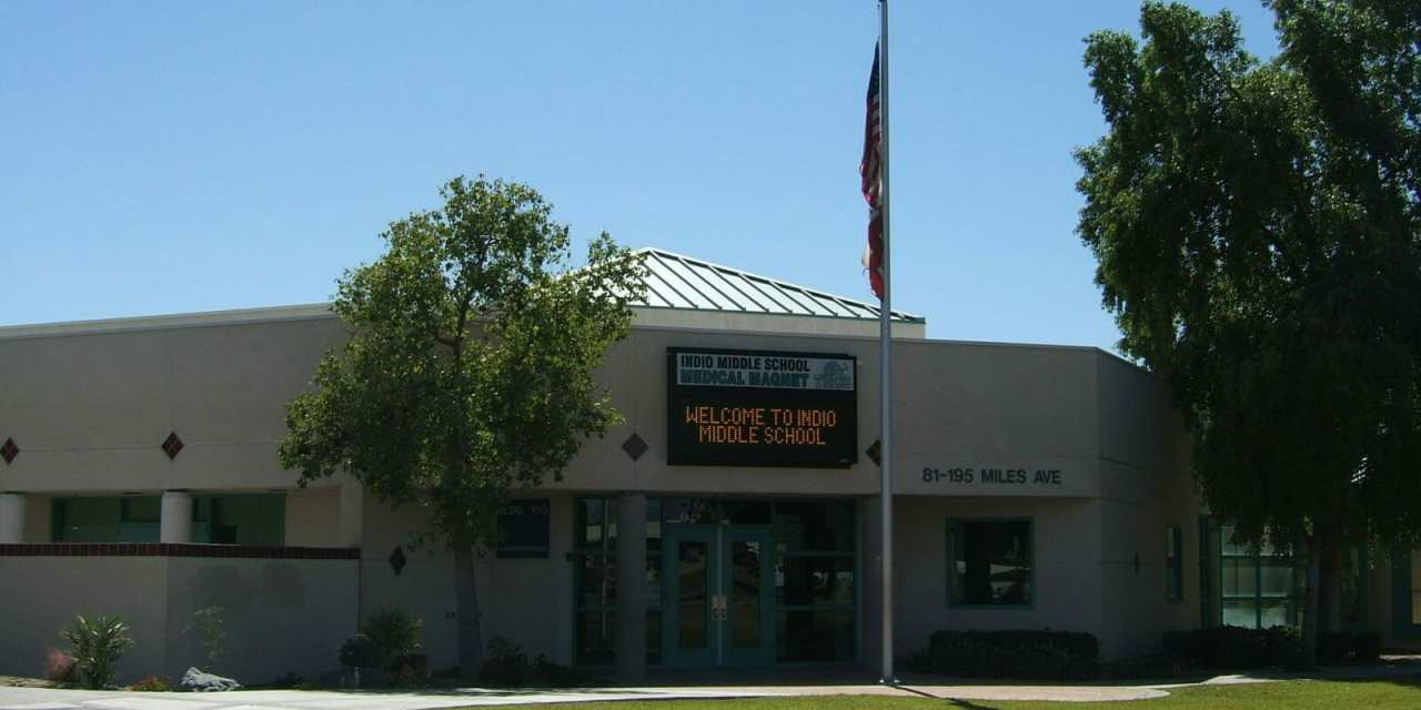 Indio Middle School Named One to Watch