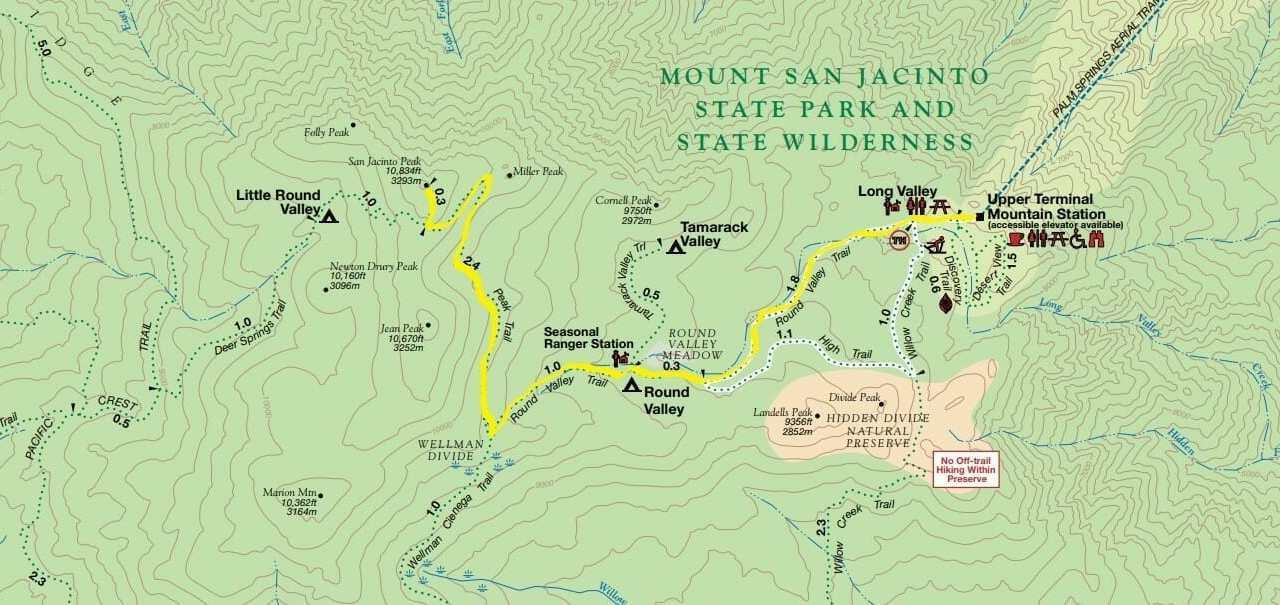 San Jacinto Peak Trail