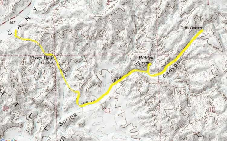 Hidden Spring Map