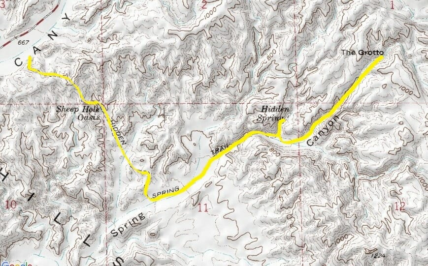 Hidden Spring Trail Attracts Day Hikers