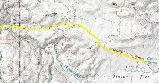 Cactus Springs Trail Map