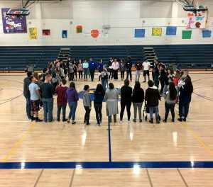 Desert Hot Springs High Students 'Break Down Walls'