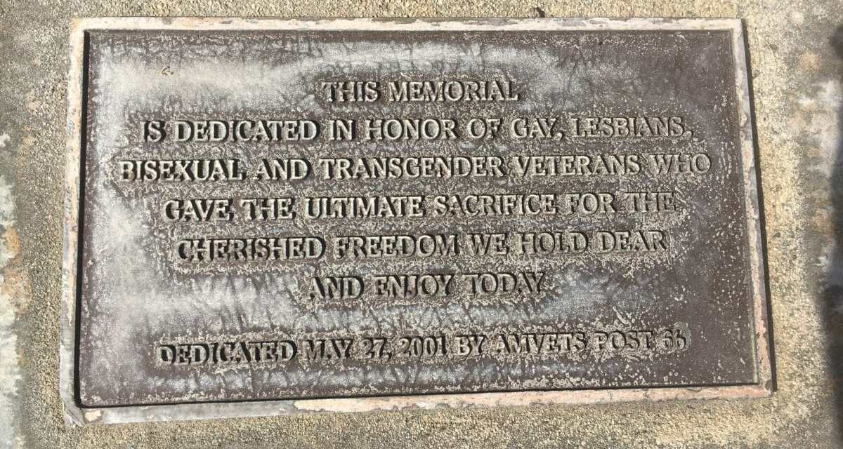 LGBT Vets Statue Could Become State Memorial