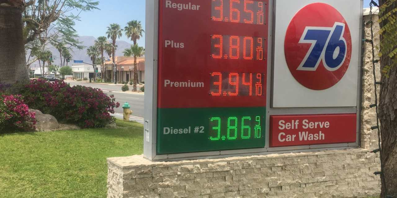 Gallon of Gasoline Inches Closer to $4 in Riverside County