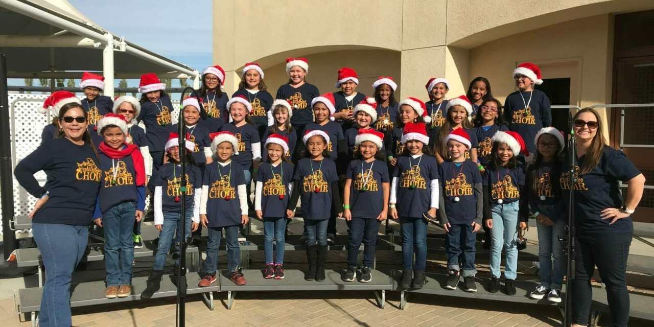 Patriotic Music from Elementary Glee Choir Will Honor Veterans
