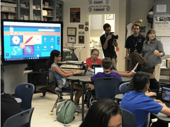 Growing Up Digital at Desert Sands Unified