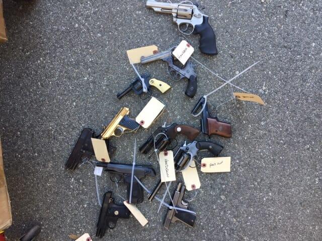 More than 50 Guns Relinquished in Buyback Effort
